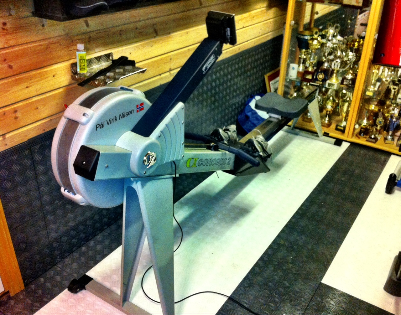 concept one rowing machine